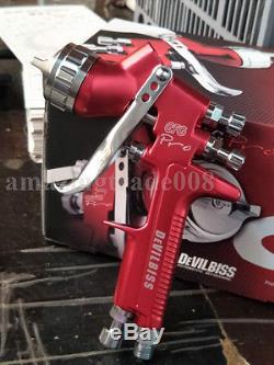 Devilbiss Gfg Pro Hvlp Pistolet De Pulvérisation Pistolet De Peinture Professionnel Pistolet 1.3mm Buse 600ml