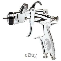 Eastwood Elite Cc500 Couleur Et Verni Hvlp En Acier Inoxydable Peinture Pistolet