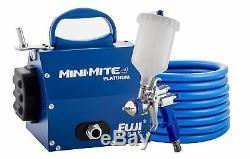 Fuji 2804-t75g Système De Pulvérisation Hvlp Gravity Mini-mite 4 Platinum T75g