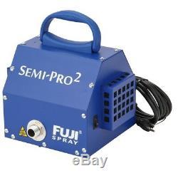 Fuji Spray System Semi-pro 2 Hvlp Bouton De Commande De Ventilateur Pistolet À Turbine En Métal