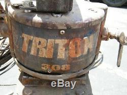 Graco Triton 308 Pompe De Peinture Pulvérisateur Pneumatique 232-820 Binks Bbr Hvlp Pistolet