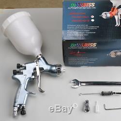 Hd01 Hvlp Air Pistolet Peinture Kit Peinture Auto Apprêt De Voiture Détail Base Coat Réparation