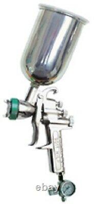 Hvlp Paint Spray Gun 1.5mm Avec Accessoires Nouvelle Démo Dans Le Cas De Transport
