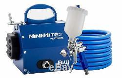 Hvlp Pulvérisateur Gun Kit Fuji Gravity Alimentation Automatique De Peinture Mini Portable Avec Buse Flexible