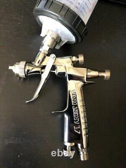 Iwata Lph80 1.0 Pointe E4 Cap Hvlp Mini Gravity Feed Gun Avec Gratuit 3m Pps