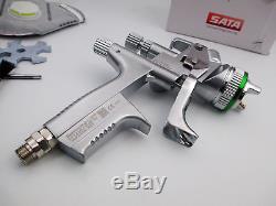 Jet D'argent 5000 Hvlp Avec Cup Pistolet À Peinture Gravity 1.3mm Avec Boîte