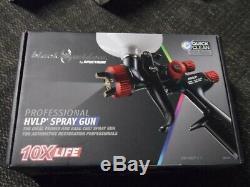 Newithsealed Spectrum Black Widow Bw-hvlp-1.7 Professional Hvlp Pistolet 56152