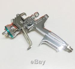 Nouveau Dans La Boîte Argent 4000 Hvlp Avec Cup Pistolet À Peinture Gravity 1.3mm 1set