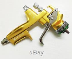 Nouveau Dans La Boîte Yellow 4000 Hvlp Avec Cup Pistolet À Peinture Gravity 1.3mm 1set Jaune