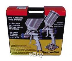 Nouveau Devilbiss 802342 Startingline Hvlp Gravity Spray Gun Auto Paint Touch Up Kit