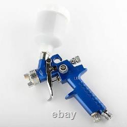 Nouveau Mini Hvlp Air Spray Gun Auto Car Détail Touch Up Paint Sprayer Spot Réparation