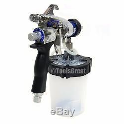 Nouveau Pistolet 17p483 Hvlp Edge II Plus De Graco Avec Vanne D'air