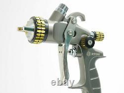 Nouvel Atom X20 Professional Spray Gun Hvlp Solvent/waterborne Avec Gunbudd Gratuit
