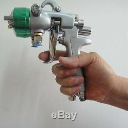 Pistolet À Air De Pulvérisation De Peinture Sat1189 Hvlp Feed Gravity Kit Nouveau 2 Pulvérisateur Auto 1 Presse De Voiture