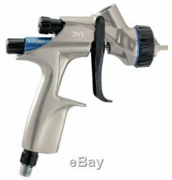 Pistolet À Peinture Devilbiss Dv1 1,2 MM Hvlp Dv1-c-000-12-b + Manomètre Non Numérique +
