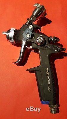 Pistolet À Peinture Noir SATA Jet 3000 B Hvlp Minijet