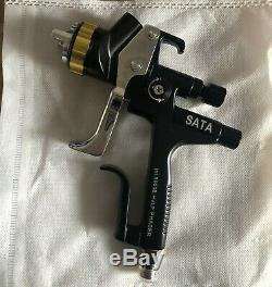 Pistolet À Peinture Professionnel 1.3mm Hvlp De Peinture De Voiture De Pistolets De Pulvérisation