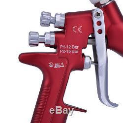Pistolet De Pulvérisation Hvlp Dovilbiss Gfg Pistolet De Peinture Professionnel Pistolet 1.3mm Buse 600ml Pot