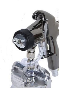 Pistolet Pulvérisateur À Turbine Qualspray Hvlp 1 Tasse De 1.0mm Brand New! (style De Purge)