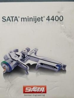 Pistolet Pulvérisateur SATA Minijet 4400 B Hvlp Avec Jauge Numérique SATA Adam 2 Exc +
