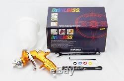 Pulvérisateur De Peinture De Pistolet À Air De Devilbiss De 1.3mm Pulvérisateur D'eau De Gti Pro Lite Hd-2 Hvlp Te20