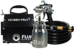 Pulvérisateur De Peinture Hvlp Pistolet Sans Purge, Filtre De Turbine À 2 Étapes Hobby-pro Fuji Spray