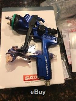 SATA Jet 1500 B Hvlp Solv 1.3 Pistolet À Peinture Avec Coupe Rps Nouveau Genuine Satajet