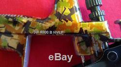 SATA Jet 4000 B Hvlp 1.3 Édition Spéciale Camo Qcc / Base Devilbiss Dekups Transparent