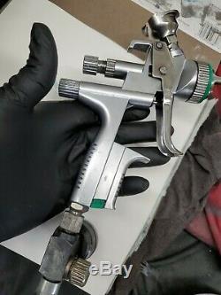 SATA Jet 5000 B Hvlp 1.3 Gun Légèrement Utilisé Avec La Boîte Et Le Livret