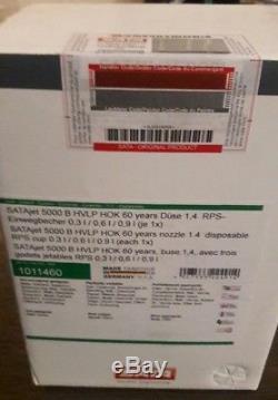 SATA Jet 5000 B Hvlp 1.4 Édition Limitée Maison De Kolor Avec Des Tasses # 1011460
