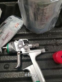 SATA Jet 5000 B Hvlp Peinture Standard Pistolet, 1.3 Avec Rps Coupes 209882 Nouveau