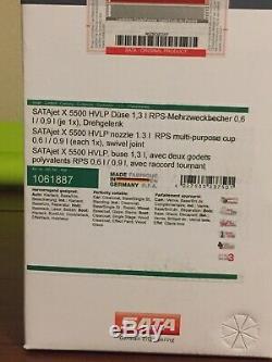 SATA Jet X5500 Hvlp 1.2 I Nozzel Withrps Cups