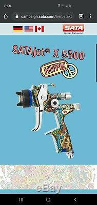 SATA Jet X 5500 Hvlp (1.3 I) Hippie Limited Edition