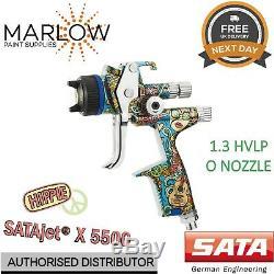 SATA Jet X 5500 Hvlp Hippie Limited Edition Digital 1.3mm'o ' Pistolet Buse