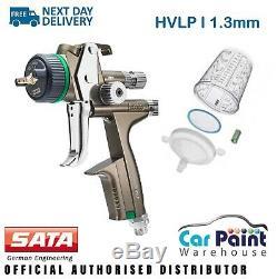 SATA Jet X 5500 Hvlp Numérique 1.3mm Gravité Pistolet I Base Buse Basecoat