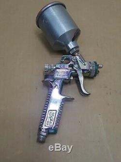 SATA Minijet Gun Hvlp / 2 Spraygun Allemagne Vert & Withhopper 1.0 Sr Conseil De Pulvérisation