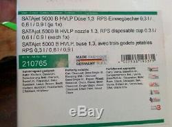 SATA Sat210765 Pistolet Standard Hvlp Satajet 5000 B (1.3 Avec Coupelles Rps)