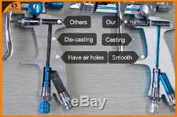 Sat1215 Hvlp Gravité Alimentation Inoxydable Buse Hvlp Peinture Pistolet