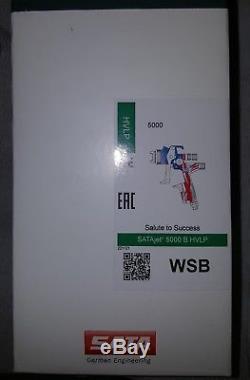Satajet 1038323 5000b Hvlp Wsb Avec Tasse De Rps Jetable. Rare. Marque Neuve Scelle