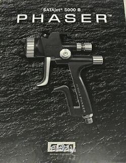 Satajet 5000 B Hvlp Phaser Base Pistolet Wsb 2 Cups Connecteur Uk Jour Suivant