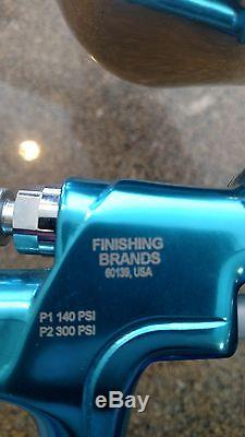 Série Binks Trophy Hvlp Pistolet À Pulvérisation À Air Gravité (capuchon D'air 32h)