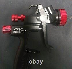 Spectrum Black Widow 56153 Hvlp Professional Pistolets Comme Nouveau