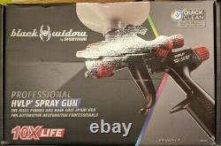 Spectrum Black Widow Professional Bw-hvlp-1.7 Spray Gun Primer/couche De Base 56152