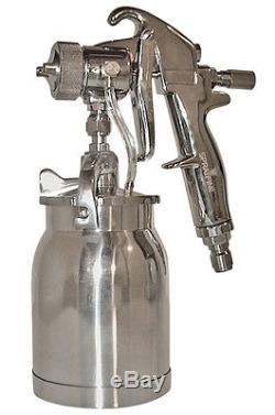 Sprayfine Tout Pistolet À Turbine À Turbine Hvlp Métallique Avec 1 Tasse Qt
