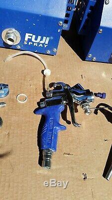 Système De Pistolet De Pulvérisation Fuji Mini-mite 4 Hvlp Utilisé, En Bon État De Fonctionnement