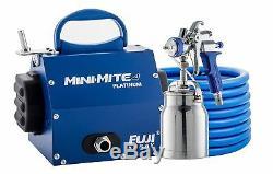Système De Pulvérisation Fuji 2904-t70 Mini-mite 4 Platinum T70 Hvlp