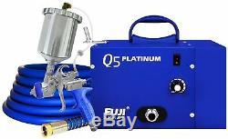 Système De Pulvérisation Hvlp Silencieux, Modèle Fuji Q5 Platinum, Avec Pistolet Et Faisceau T75g
