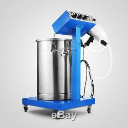 Système De Revêtement En Poudre Avec Pistolet Pulvérisateur Wx-958 Machine De Pulvérisation Électrostatique