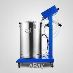 Système De Revêtement En Poudre Avec Pistolet Pulvérisateur Wx-958 Pistolet À Peinture Électrostatique Pour Machine