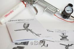 Système De Revêtement En Poudre Nordicpulver Pro Pistolet À Peinture En Poudre Us Plug Tribo